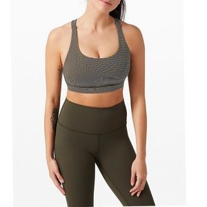Lululemon Energy Bra Medium Support, B-D C-D